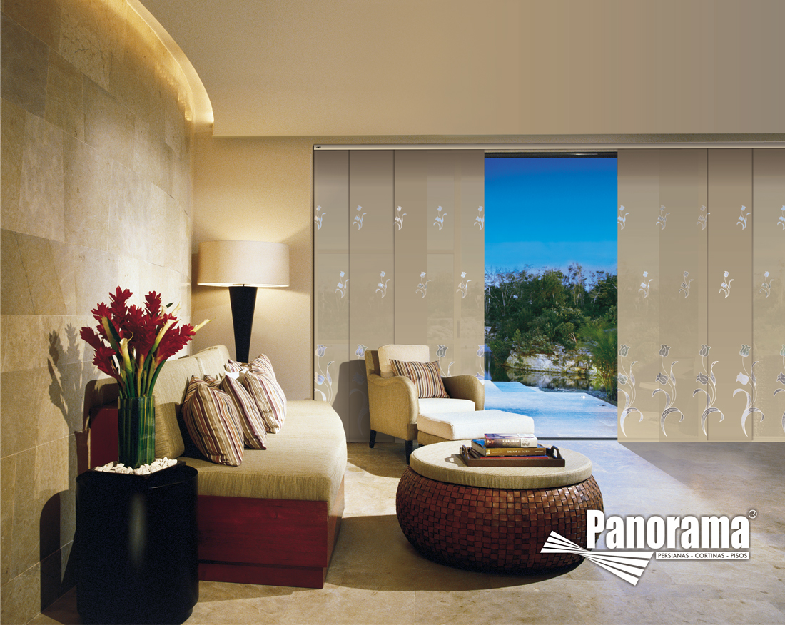 Cortinas panel japon s dms decoraci n microcemento for Decoracion hogar lima